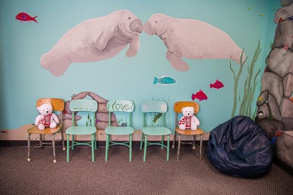 RCN aquarium room